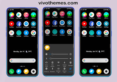 MIUI Dark Theme For Vivo Android Smartphones