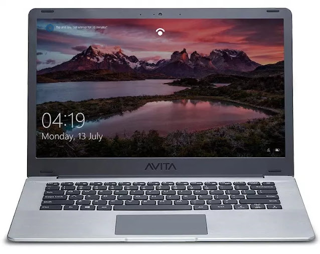 AVITA PURA NS14A6INU442-SGGYB 14-inch Laptop (AMD Ryzen 3-3200U/4GB/256GB SSD/FHD/Windows 10 Home in S Mode/AMD Radeon Vega 3 Graphics/MS Office 365/ 1.34Kg), Space Grey with 3 in 1 Sleeve (Grey)
