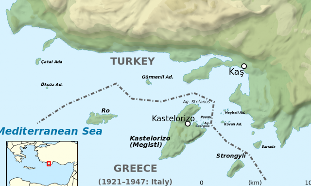 Ελληνοτουρκικά: Μας προειδοποιούν οι Αμερικανοί-«Η Τουρκία στοχοποιεί το σύμπλεγμα Καστελορίζου»