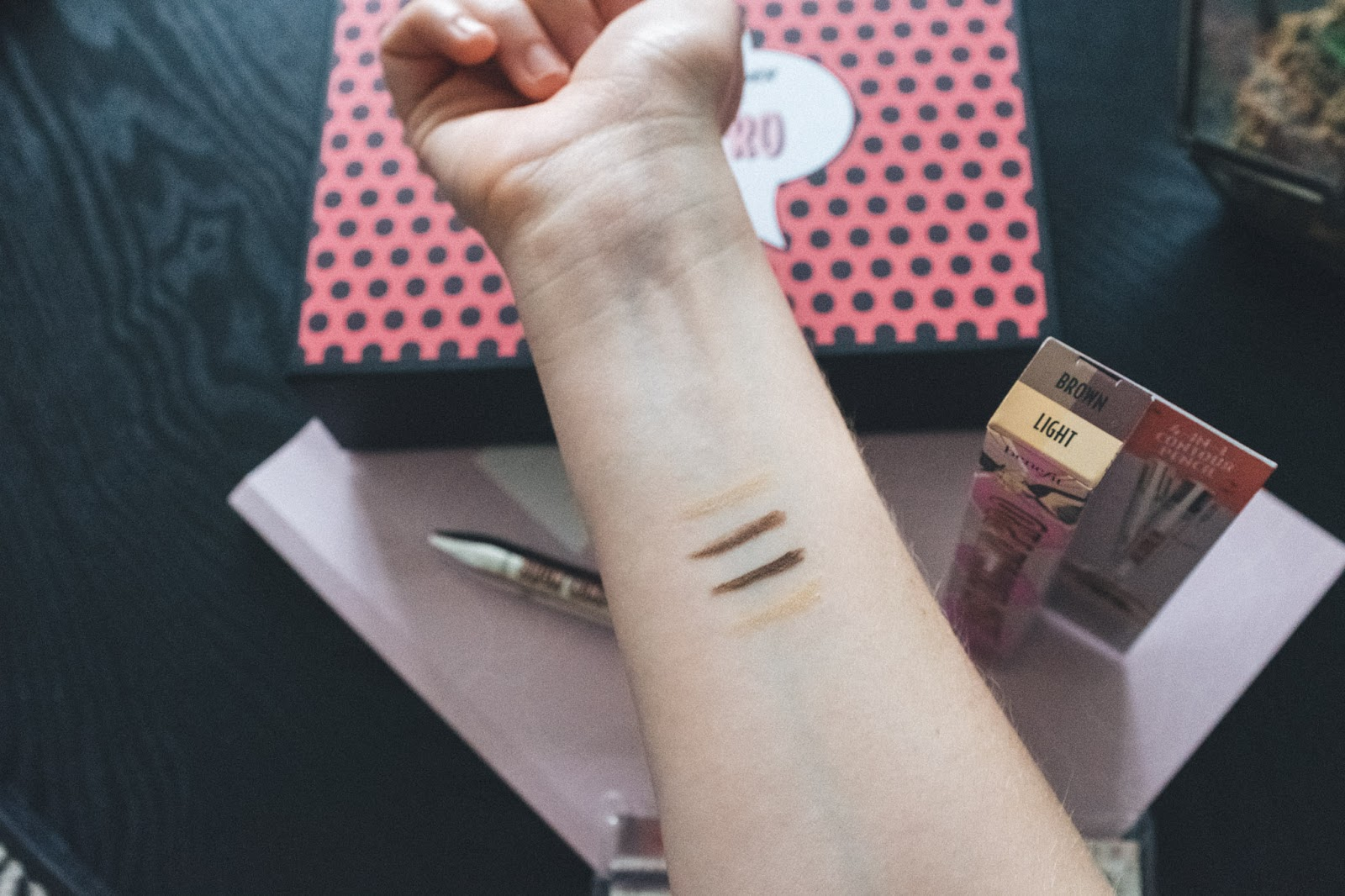 Benefit Brow Contour Pro review swatches