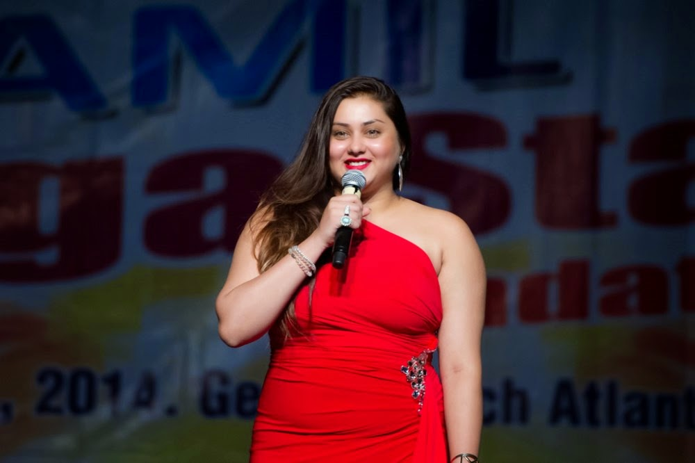 Super Red Hot Namitha at Event 2014