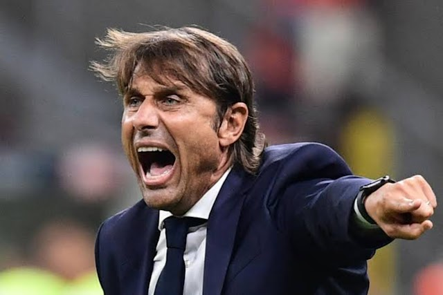 Conte angry at boos from Inter fans after Roma stalemate