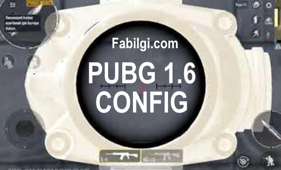 Pubg Mobile 1.6 Yeni Güncelleme 90 120 FPS Config İndir