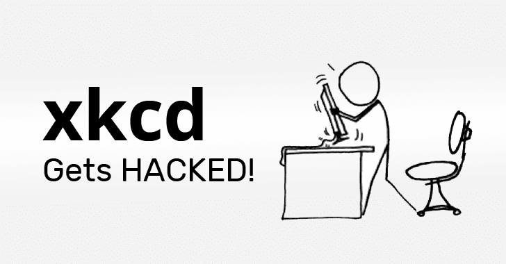 XKCD Forum Hacked – Over 562,000 Users' Account Details Leaked