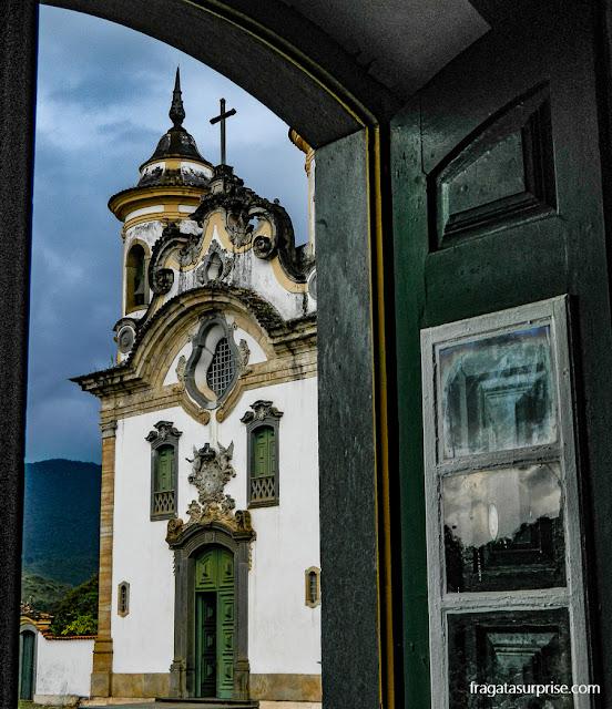 Cidades históricas de Minas Gerais: Mariana, Igreja do Carmo