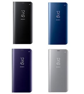 Bao da clear view Galaxy S8 chính hãng Samsung