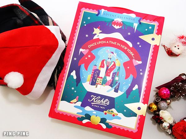 Christmas Surprise!~♥ Kiehl's聖誕倒數月曆Advent Calender