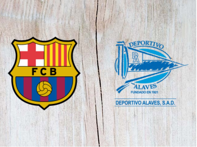 Barcelona vs Deportivo Alaves Full Match & Highlights - 18 August 2018