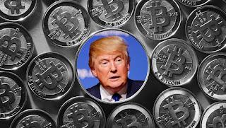 Президент Трамп вступает в крипто-войну и заявляет, что он - не большой поклонник биткойнов.