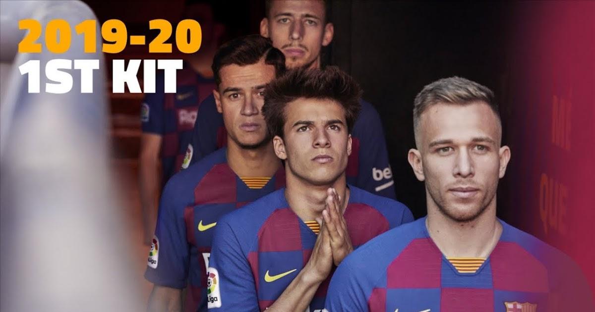 DLS New Barcelona Kit + Logo 2019/2020 For Dream League Soccer