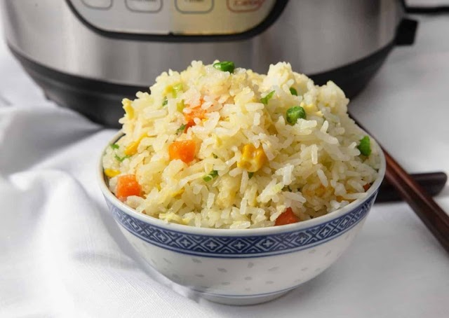 Pressure Cooker Chinese Fried Rice