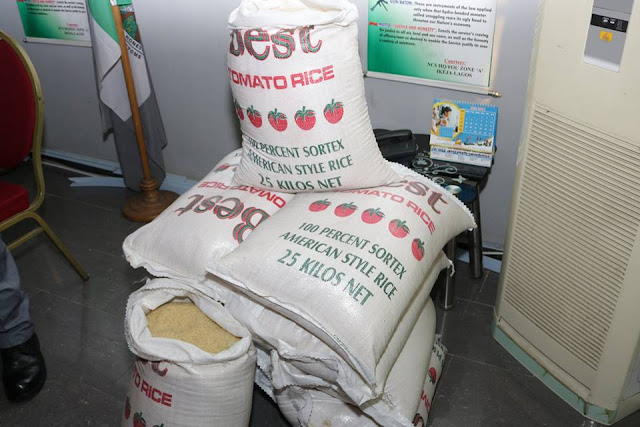 Officers of FOU 'A' Intercepts Suspected Plastic Rice