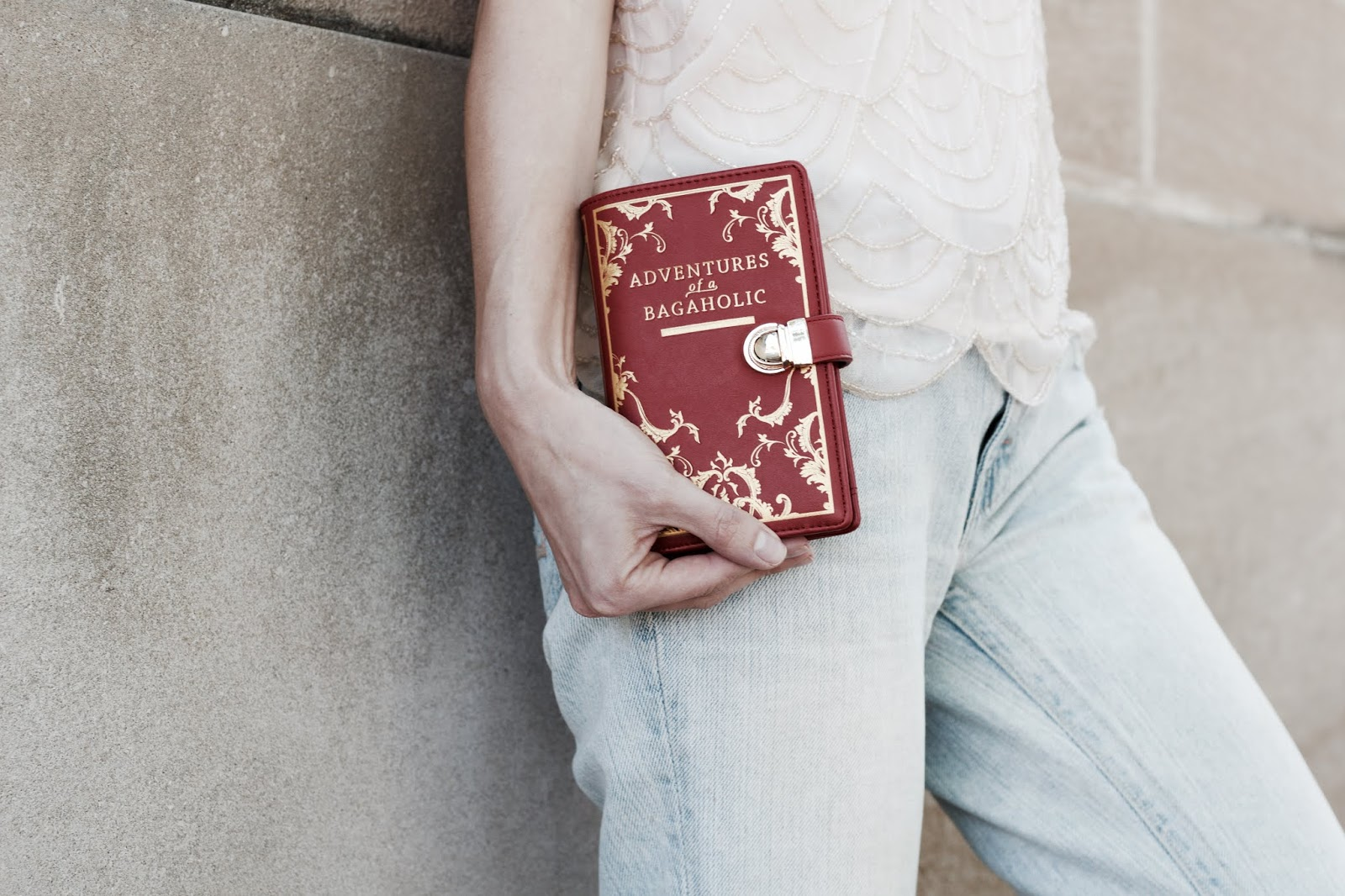 Book Shaped Wallet from Vendula London