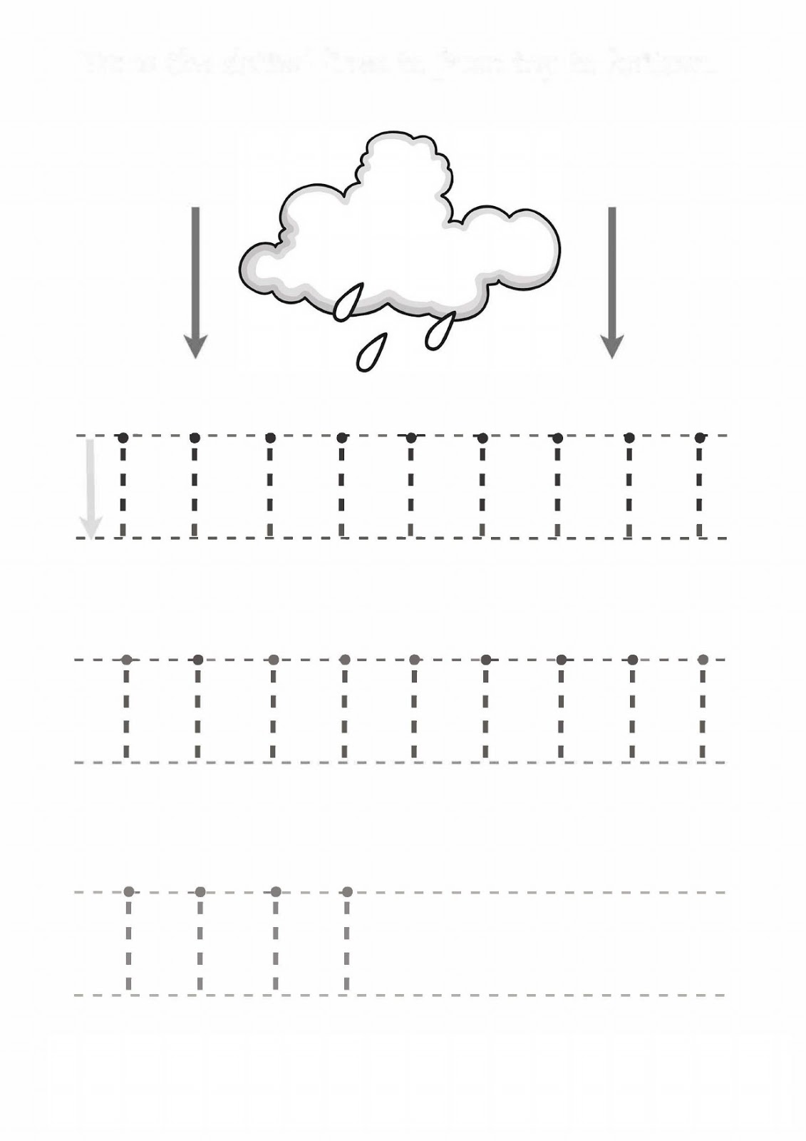 Kindergarten Line Worksheet