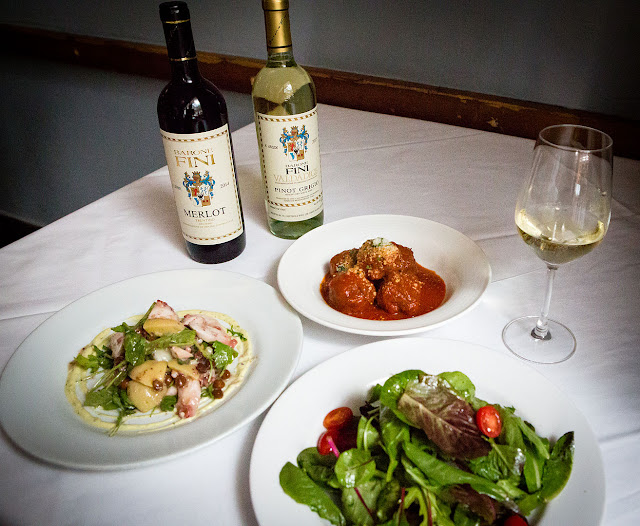 Baroni Fini WInes and Food at i Tulli for Ferrogosto