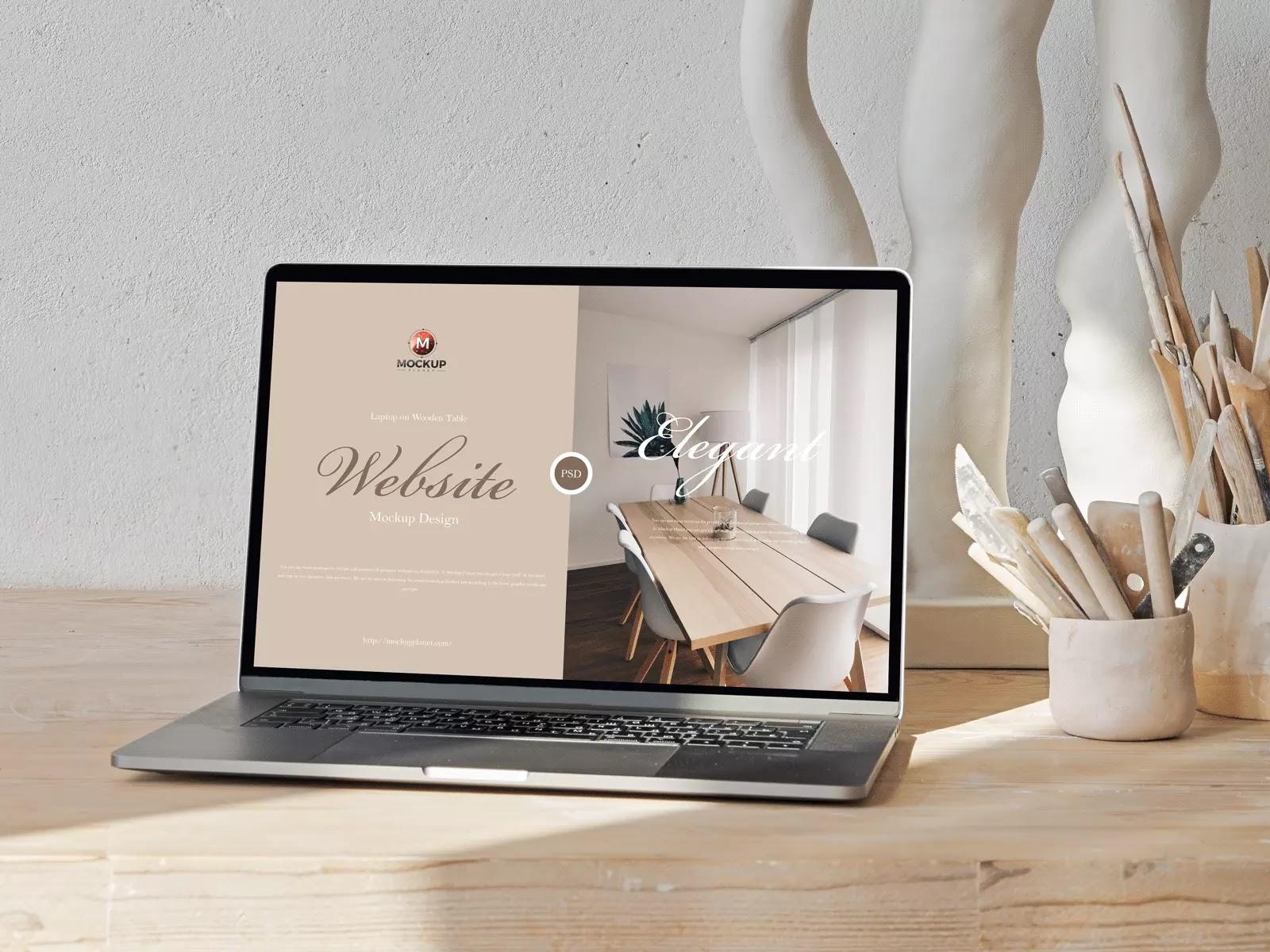 Simple-Laptop-PSD-mockups
