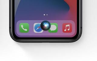 Siri apple suara
