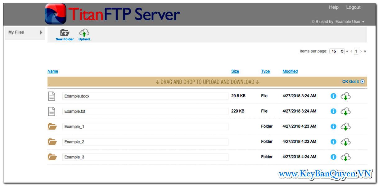 Download và cài đặt Titan FTP Server 2019 Build 3538 Enterprise Full Key, Máy chủ SFTP mạnh mẽ cho Windows .