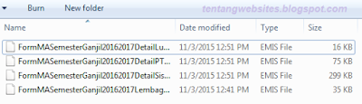 Langkah-langkah upload emis desktop offline