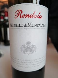 Rendola Brunello di Montalcino 2004 - DOCG, Tuscany, Italy (91 pts)