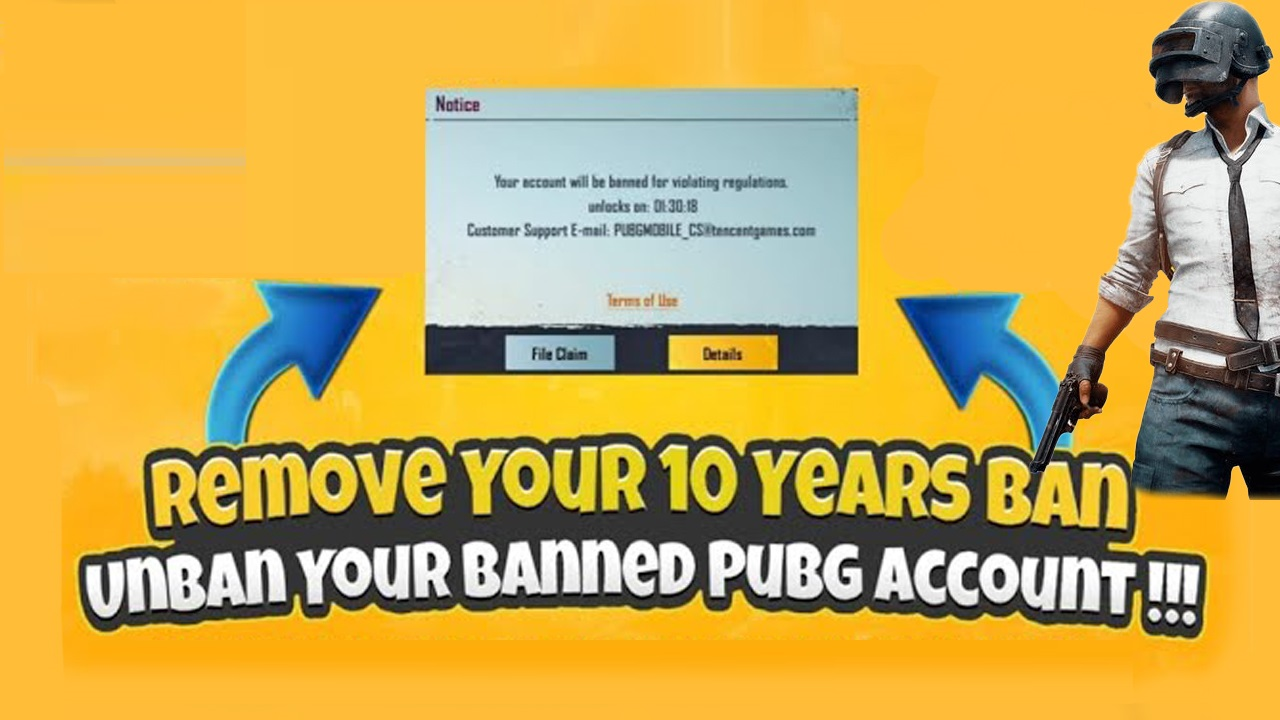 How to Unban your PUBG Mobile Banned account in 7 days?
