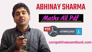 Abhinay Sharma Maths All Pdf
