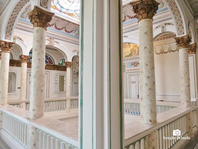 Palacete Basílio Jafet (vista diagonal da galeria superior)