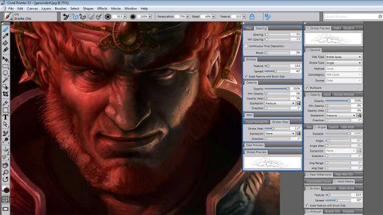 Corel Painter X3 screenshot 4