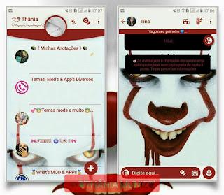 Dark Knight Joker Theme For YOWhatsApp & Fouad WhatsApp By Thania