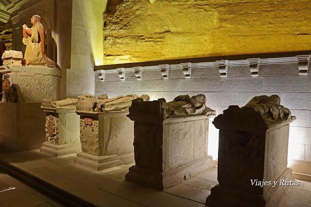 Panteón Real del Real Monasterio de Santa María la real de Nájera. La Rioja