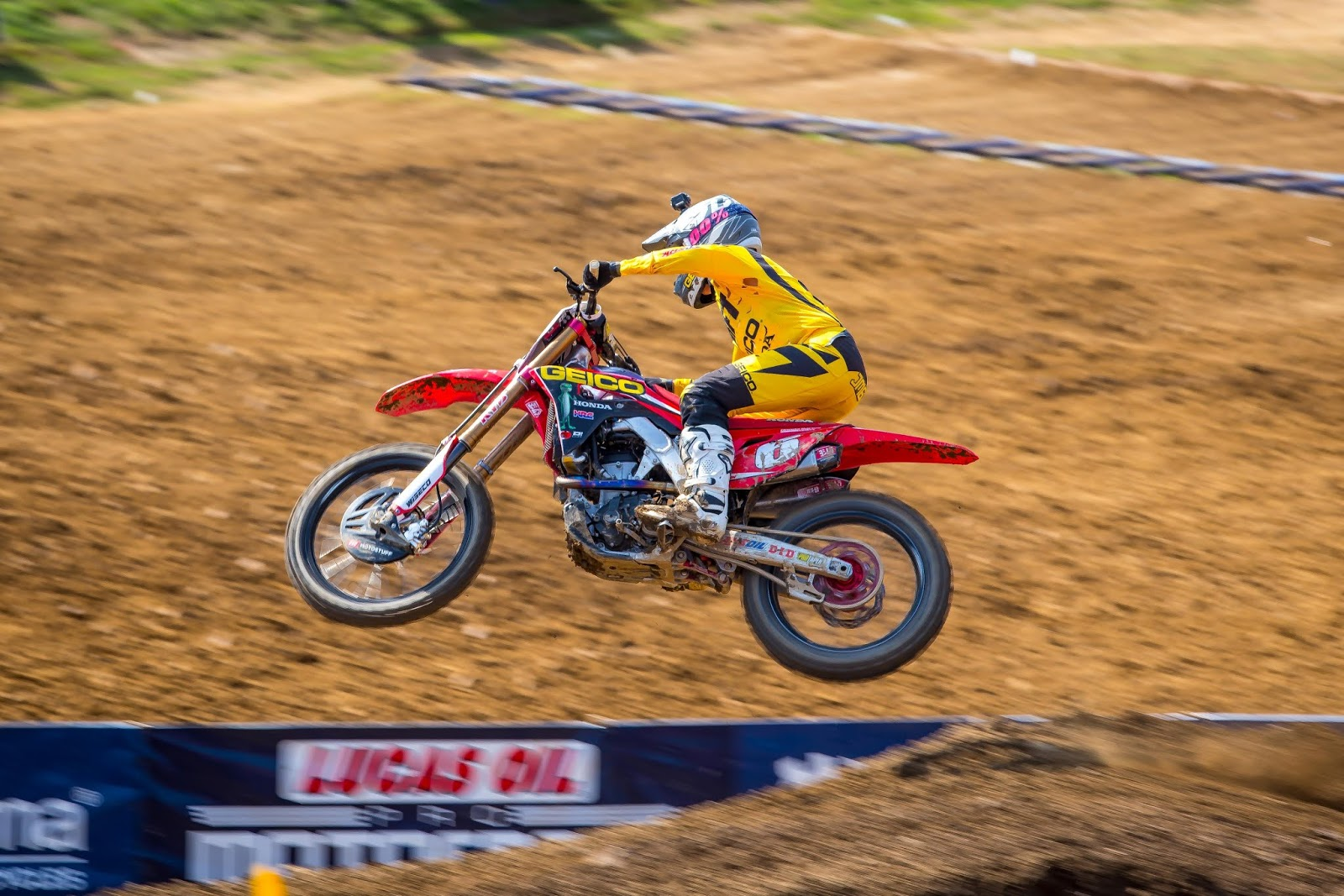 ... PA (June 16, 2018) U2013 For The Second Straight Race, It Appeared GEICO  Hondau0027s Jeremy Martin Was In Control Of The 250 Class Of Lucas Oil Pro  Motocross.