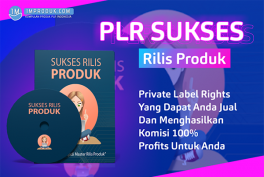 PLR Sukses Rilis Produk