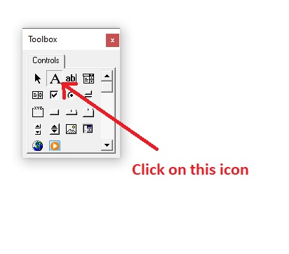 Select label icon