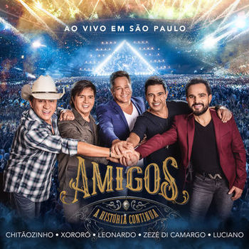 CD A História Continua (Ao vivo em São Paulo) – Amigos (2019) download