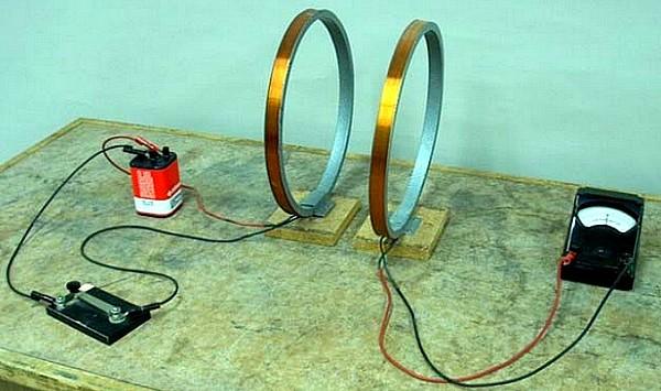 الشحن الحثي inductive charging