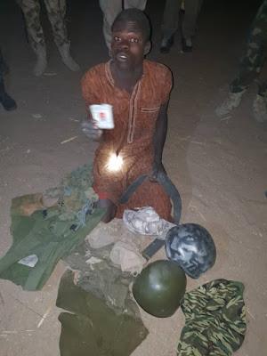 Sojoji sun kama dan Boko Haram a Borno