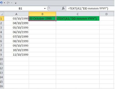 rumus format tanggal di excel