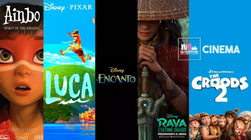 5 film d'animazione da vedere nel 2021