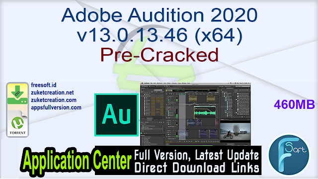 Adobe Audition 2020 v13.0.13.46 (x64) Pre-Cracked