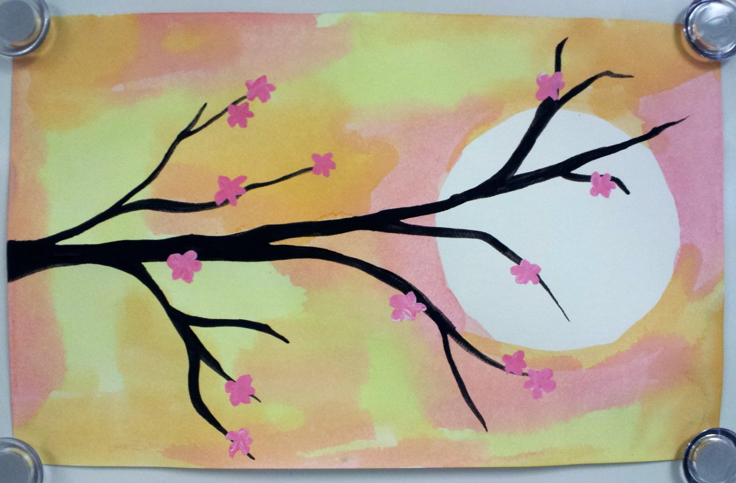 Cherry Blossom Paintings 3rd