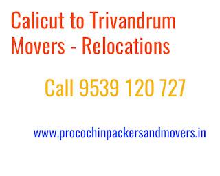 calicut to trivandrum moving service