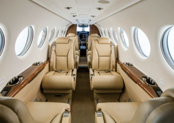 Beechcraft King Air 350i interior