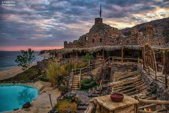 Castle Zaman, Taba, Egypt