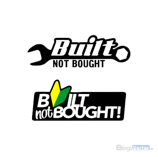 BUILT NOT BOUGHT Logo vector (.cdr)