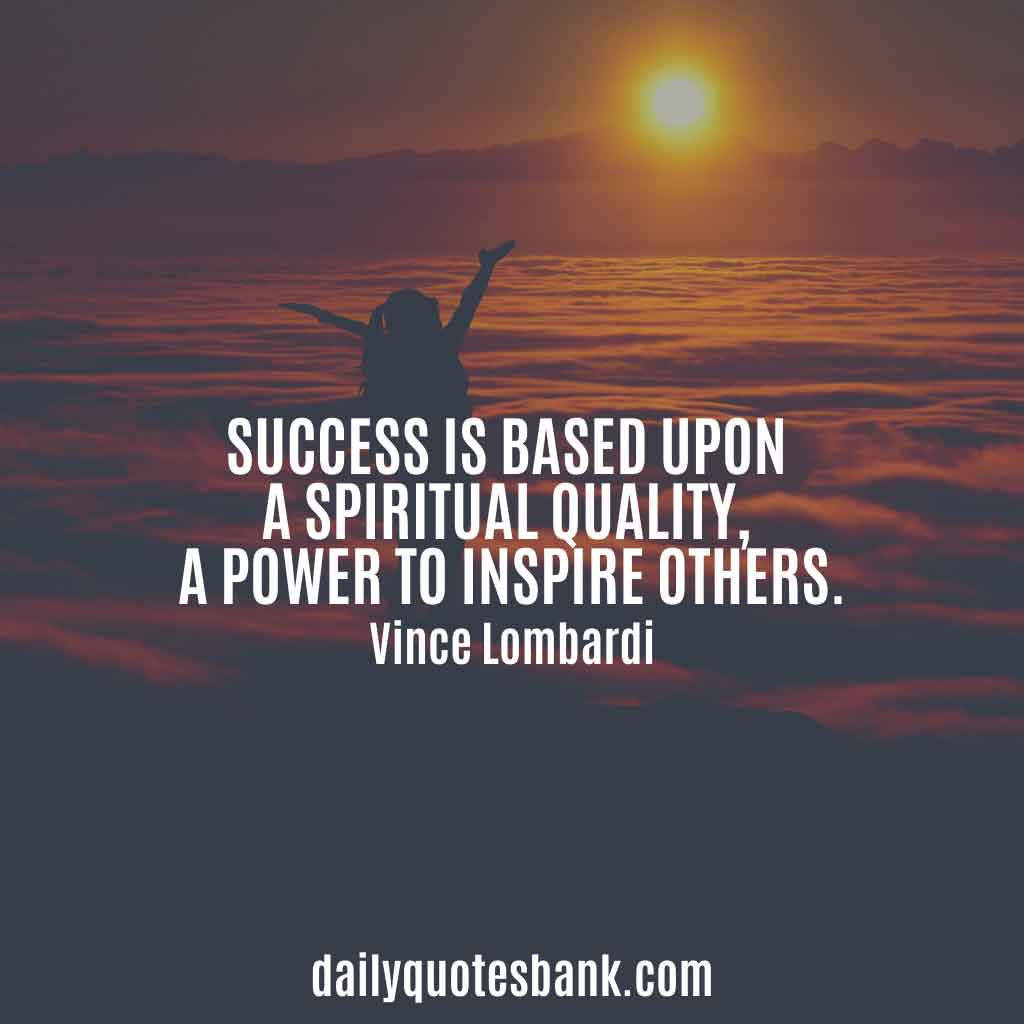 Vince Lombardi Quotes On Excellence, Perfection, Teamwork, Success