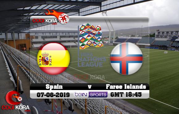 مشاهدة مباراة جزر فارو وأسبانيا اليوم 7-6-2019 تصفيات يورو 2020