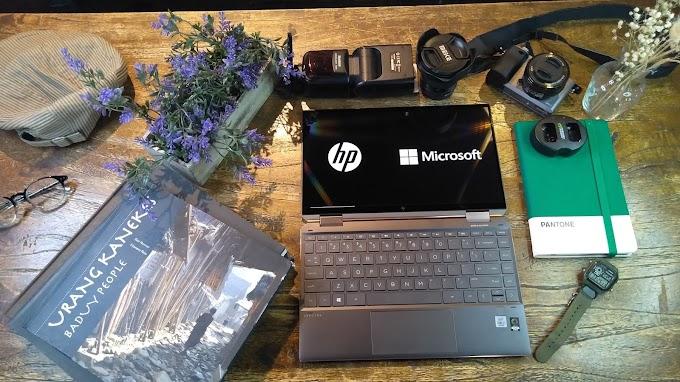 HP Spectre x360, Perangkat Kerja Luar Biasa Untuk Profesional Muda