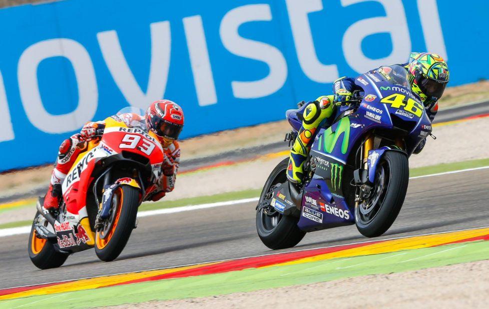 Aragon MotoGP 2017: ha vinto Marquez, ottimo 5° di Valentino Rossi