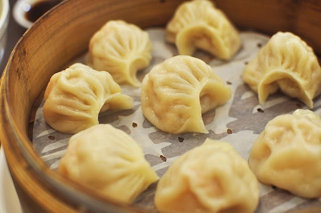 Yummy Chicken Momos or Dimsum at home
