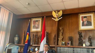 Dubes Al Busyra Basnur: Sayang Belum Ada Dosen Indonesia di Ethiopia
